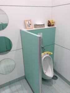 もりんぴあなかよしひろば男の子用のトイレ