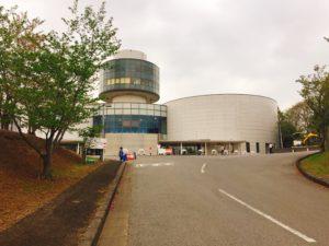 航空科学博物館の建物