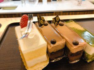 ラ・クレマンティーヌの購入したケーキ