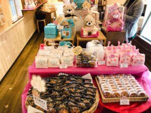 ラ・クレマンティーヌ店内で販売されている焼き菓子