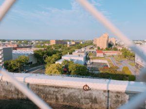 屋上から見る景色