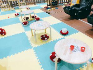 子供用テーブルとイス