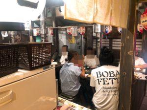 成田肉横丁店内の様子