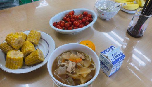 成田市こども食堂「からべえ」の「けんちんうどん」を食べました
