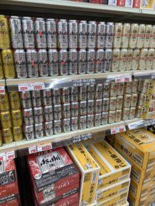 ロピア成田店バラ売りのビール