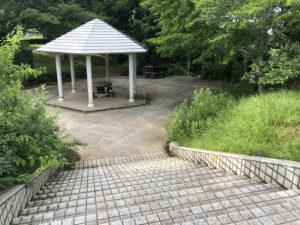 公園にある広場