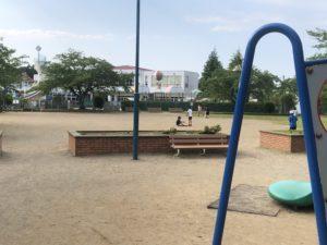 公園のグランド