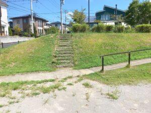 公園にある階段