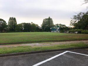 公園にあるグランド