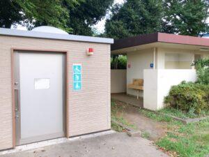 公園にあるトイレ