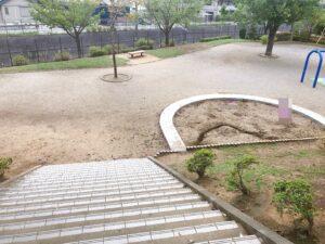 公園にある砂場