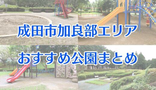 成田市加良部エリアおすすめ公園7選